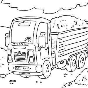 משחק משאיות לצביעה אונליין